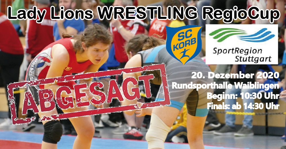 ABSAGE 2. Lady Lions WRESTLNG RegioCup @ Ballspielhalle